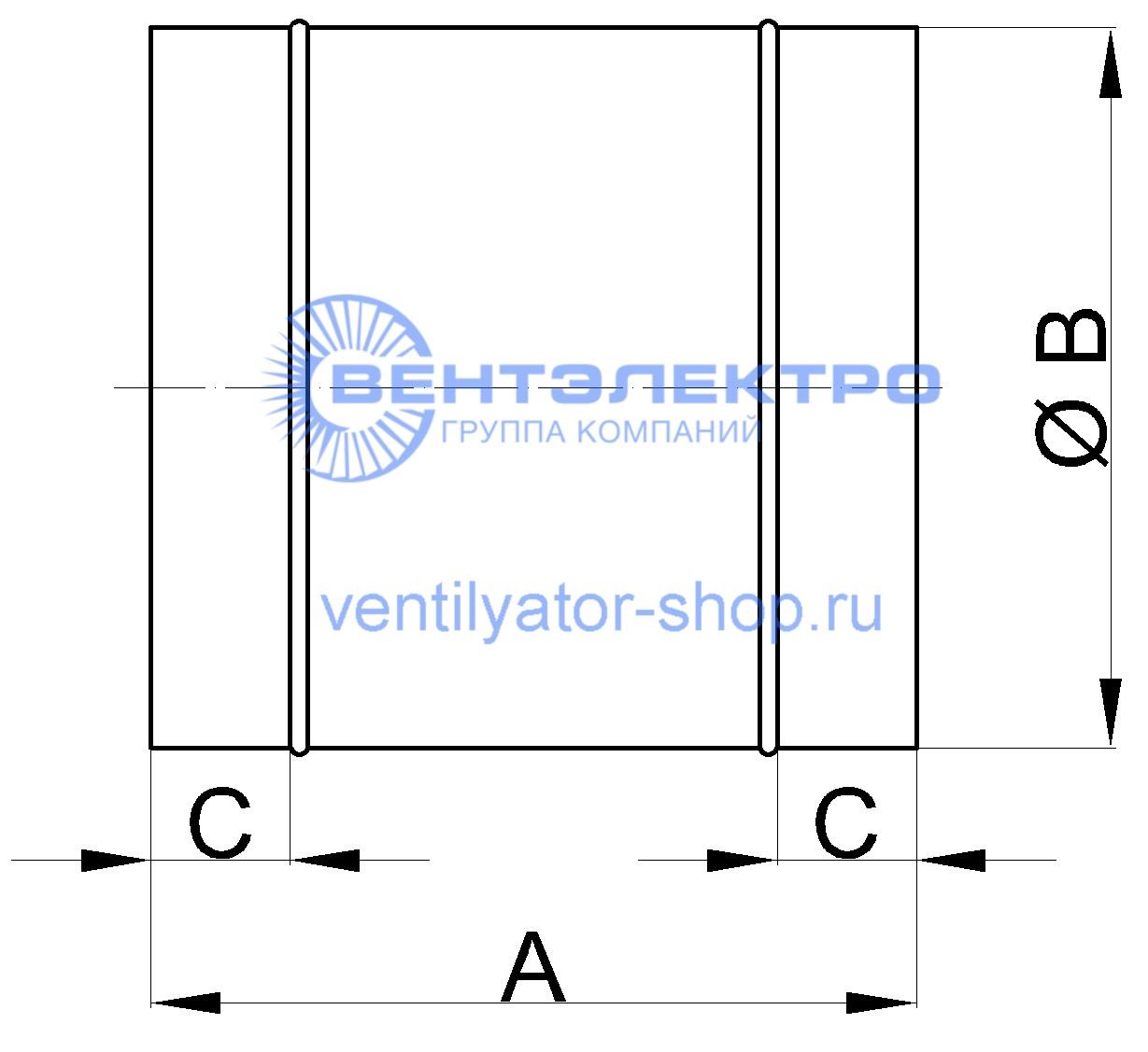 Вентилятор ВКО аналог Домовент, Вентс, Vents